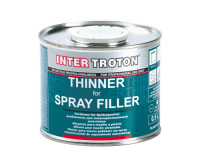 Thinner Body Filler spray