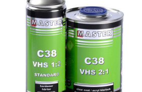 New! Acrylic Clear Coat MASTER C38 VHS 2:1