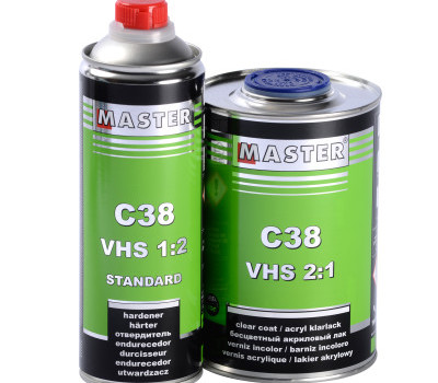 (English) New! Acrylic Clear Coat MASTER C38 VHS 2:1