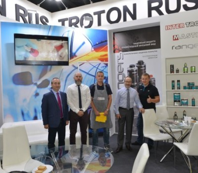 TROTON and TROTON RUS at the INTERAUTO Show in Moscow!